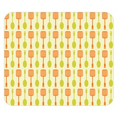Spatula Spoon Pattern Double Sided Flano Blanket (Small)  by creativemom