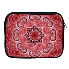 Awesome Kaleido 07 Red Apple Ipad 2/3/4 Zipper Cases by MoreColorsinLife