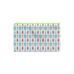 Spatula Spoon Pattern Cosmetic Bag (XS) by creativemom