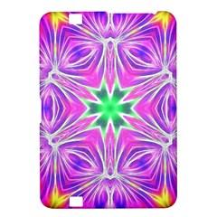 Kaleido Art, Pink Fractal Kindle Fire HD 8.9  by MoreColorsinLife