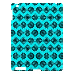 Abstract Knot Geometric Tile Pattern Apple Ipad 3/4 Hardshell Case by creativemom
