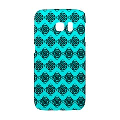 Abstract Knot Geometric Tile Pattern Galaxy S6 Edge by creativemom