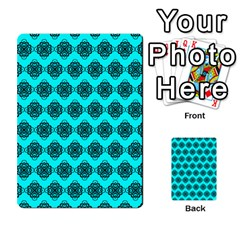 Abstract Knot Geometric Tile Pattern Multi Purpose Cards (rectangle)  by creativemom