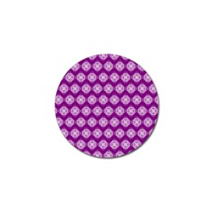 Abstract Knot Geometric Tile Pattern Golf Ball Marker by creativemom