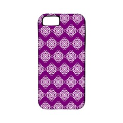 Abstract Knot Geometric Tile Pattern Apple Iphone 5 Classic Hardshell Case (pc+silicone) by creativemom