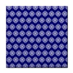 Abstract Knot Geometric Tile Pattern Tile Coasters
