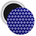Abstract Knot Geometric Tile Pattern 3  Magnets