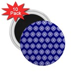 Abstract Knot Geometric Tile Pattern 2.25  Magnets (10 pack)