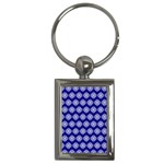 Abstract Knot Geometric Tile Pattern Key Chains (Rectangle)