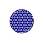 Abstract Knot Geometric Tile Pattern Hat Clip Ball Marker
