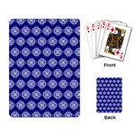 Abstract Knot Geometric Tile Pattern Playing Card