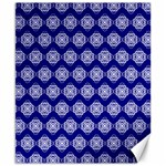 Abstract Knot Geometric Tile Pattern Canvas 8  x 10