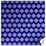 Abstract Knot Geometric Tile Pattern Canvas 16  x 16