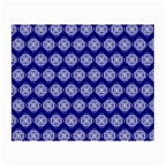 Abstract Knot Geometric Tile Pattern Small Glasses Cloth (2-Side)