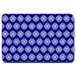 Abstract Knot Geometric Tile Pattern Large Doormat