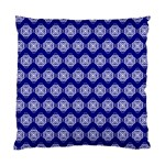 Abstract Knot Geometric Tile Pattern Standard Cushion Case (One Side)