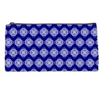 Abstract Knot Geometric Tile Pattern Pencil Cases