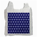 Abstract Knot Geometric Tile Pattern Recycle Bag (One Side)