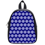 Abstract Knot Geometric Tile Pattern School Bags (Small)
