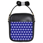 Abstract Knot Geometric Tile Pattern Girls Sling Bags