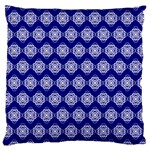 Abstract Knot Geometric Tile Pattern Large Cushion Cases (One Side)