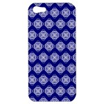 Abstract Knot Geometric Tile Pattern Apple iPhone 5 Hardshell Case