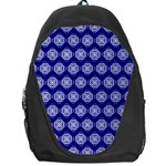 Abstract Knot Geometric Tile Pattern Backpack Bag