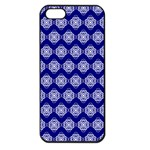Abstract Knot Geometric Tile Pattern Apple iPhone 5 Seamless Case (Black)