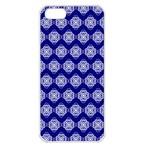 Abstract Knot Geometric Tile Pattern Apple iPhone 5 Seamless Case (White)