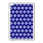 Abstract Knot Geometric Tile Pattern Apple iPad Mini Case (White)