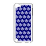 Abstract Knot Geometric Tile Pattern Apple iPod Touch 5 Case (White)