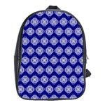 Abstract Knot Geometric Tile Pattern School Bags (XL)