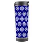 Abstract Knot Geometric Tile Pattern Travel Tumblers
