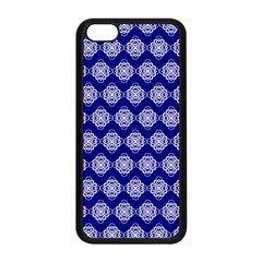 Abstract Knot Geometric Tile Pattern Apple Iphone 5c Seamless Case (black) by creativemom