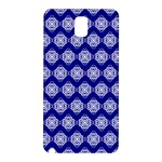 Abstract Knot Geometric Tile Pattern Samsung Galaxy Note 3 N9005 Hardshell Back Case