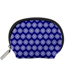 Abstract Knot Geometric Tile Pattern Accessory Pouches (Small)