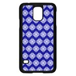 Abstract Knot Geometric Tile Pattern Samsung Galaxy S5 Case (Black)