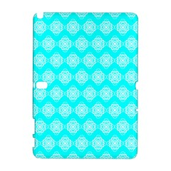 Abstract Knot Geometric Tile Pattern Samsung Galaxy Note 10 1 (p600) Hardshell Case by creativemom