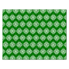 Abstract Knot Geometric Tile Pattern Rectangular Jigsaw Puzzl by creativemom