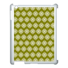 Abstract Knot Geometric Tile Pattern Apple Ipad 3/4 Case (white) by creativemom
