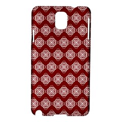 Abstract Knot Geometric Tile Pattern Samsung Galaxy Note 3 N9005 Hardshell Case by creativemom