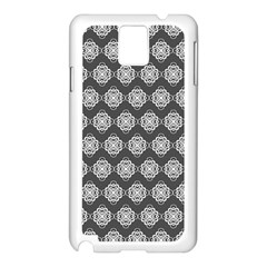 Abstract Knot Geometric Tile Pattern Samsung Galaxy Note 3 N9005 Case (white) by creativemom
