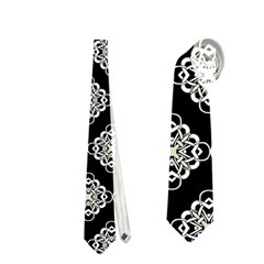 Abstract Knot Geometric Tile Pattern Neckties (Two Side)  by creativemom