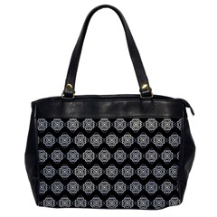 Abstract Knot Geometric Tile Pattern Office Handbags by creativemom