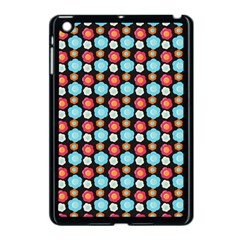 Colorful Floral Pattern Apple Ipad Mini Case (black) by creativemom