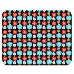 Colorful Floral Pattern Double Sided Flano Blanket (medium)  by creativemom