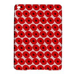 Red Peony Flower Pattern Ipad Air 2 Hardshell Cases