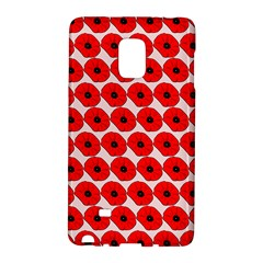 Red Peony Flower Pattern Galaxy Note Edge by creativemom