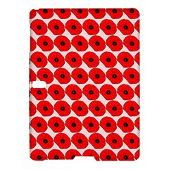 Red Peony Flower Pattern Samsung Galaxy Tab S (10 5 ) Hardshell Case