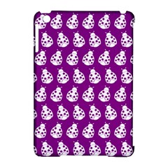 Ladybug Vector Geometric Tile Pattern Apple Ipad Mini Hardshell Case (compatible With Smart Cover) by creativemom